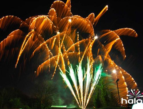 Sparkling Silver Fireworks Display Package
