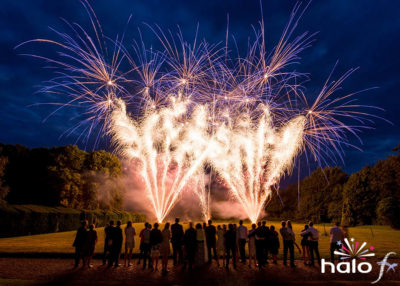 Wedding music and fireworks display at The Manor near Oxford. Fireworks display choreograhed to Michael Buble - Feeling Good