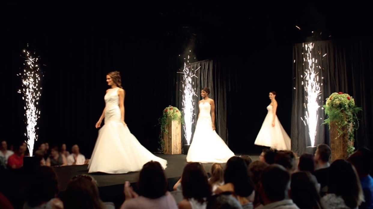 spark stream wedding fashion show